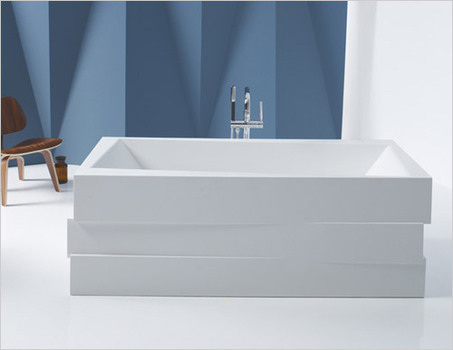 Tinas De Baño De Concreto:Tinas para baños elegantes – Lithocast bañeras independientes por
