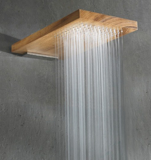 Ba os modernos ducha de madera rare decoracio nesdotcom - Duchas de madera ...