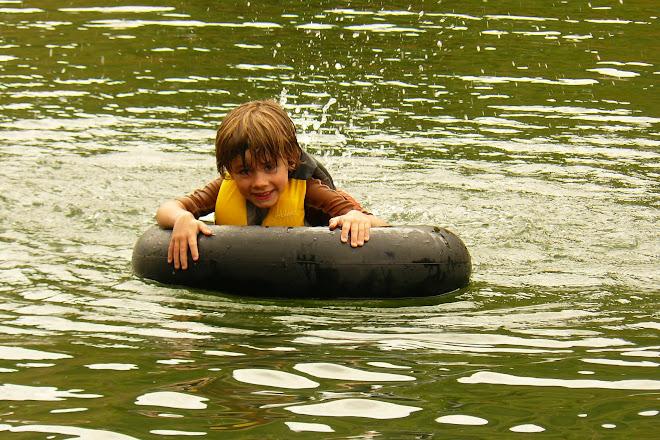 Jake swimming in Pine View