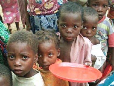 O desespero da fome