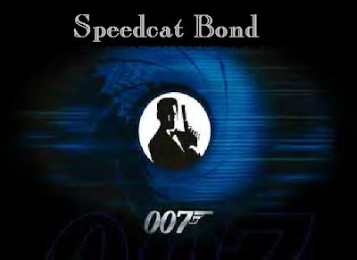 Bond Logo 007 0007 Speedy Cat