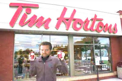 Tim Horton Coffee Makes You Pee a LOT, and is really 