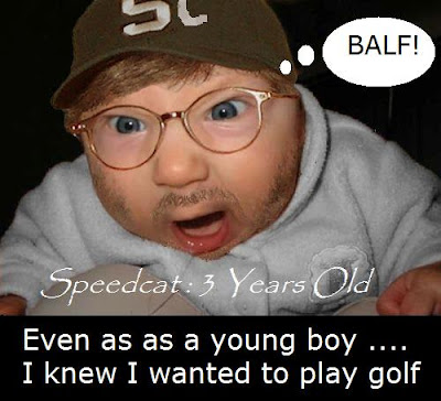 3 years old golfer Speedcat Hollydale