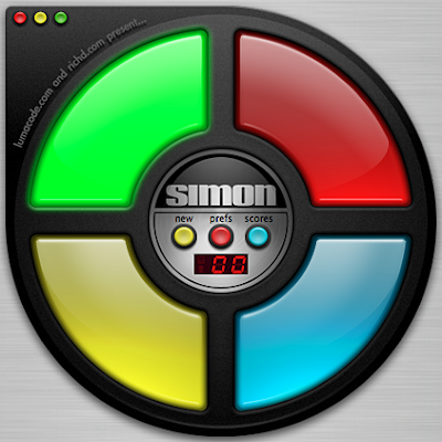 simon old school electronic games