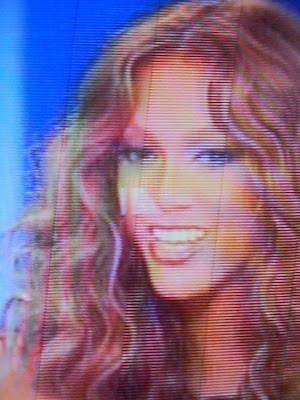 Tyra banks TV screen shot smile