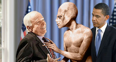 Barack Obama, John McCain, and aliens