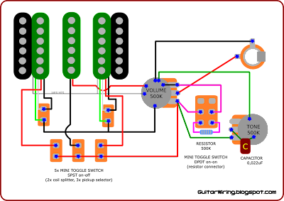 Treble Bleed Wiring Pickup With Fender additionally Emg H4a Wiring Diagram further Steve Morse Model Bridge additionally Wiring Diagram Altec Also Lansing Schematics besides Ibanez Pickup Wiring Diagram. on dimarzio wiring diagrams