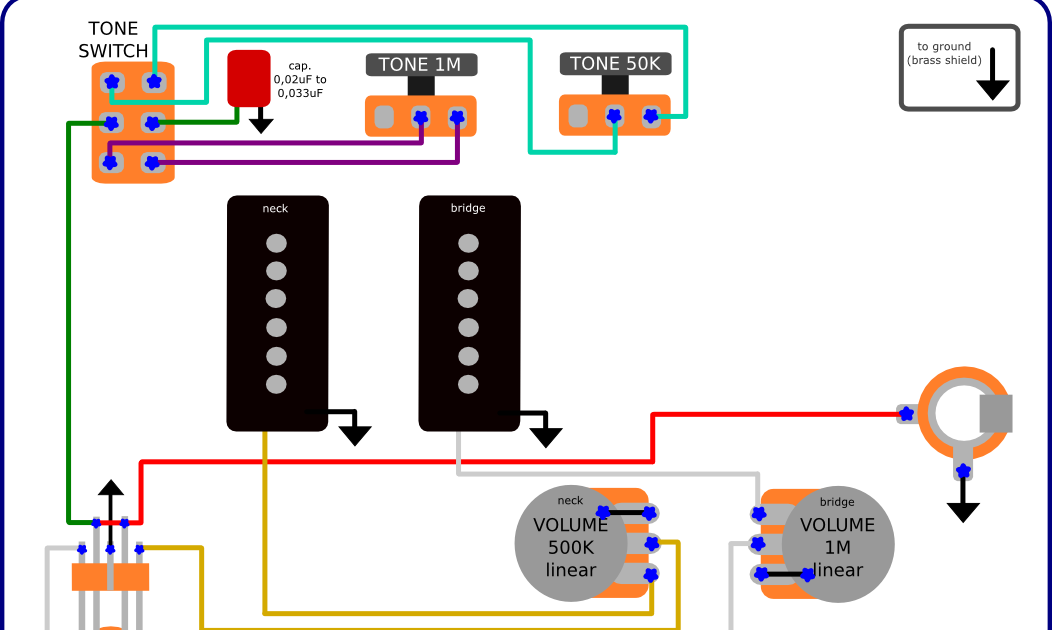 jazzmaster wiring diagram jazzmaster image wiring the guitar wiring blog diagrams and tips fender jazzmaster on jazzmaster wiring diagram