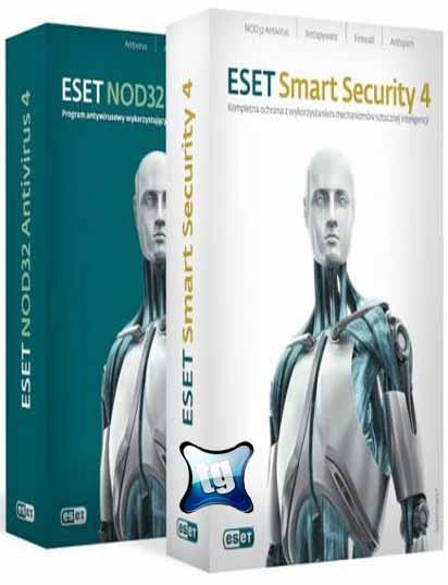 Eset NOD32 Antivirus e Smart Security 4.2.40.10 32 e 64 Bits Completo Full