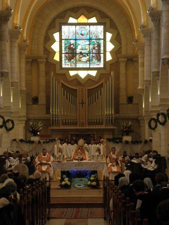 Fot. M. Trojnar (Betlejem, Kościł Św. Katarzyny, styczeń 2010r.)