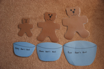 Totally Tots Once Upon A Book Goldilocks And The Three Bears