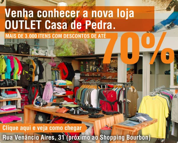 Casa de pedra outlet casa de pedra for Outlet casa
