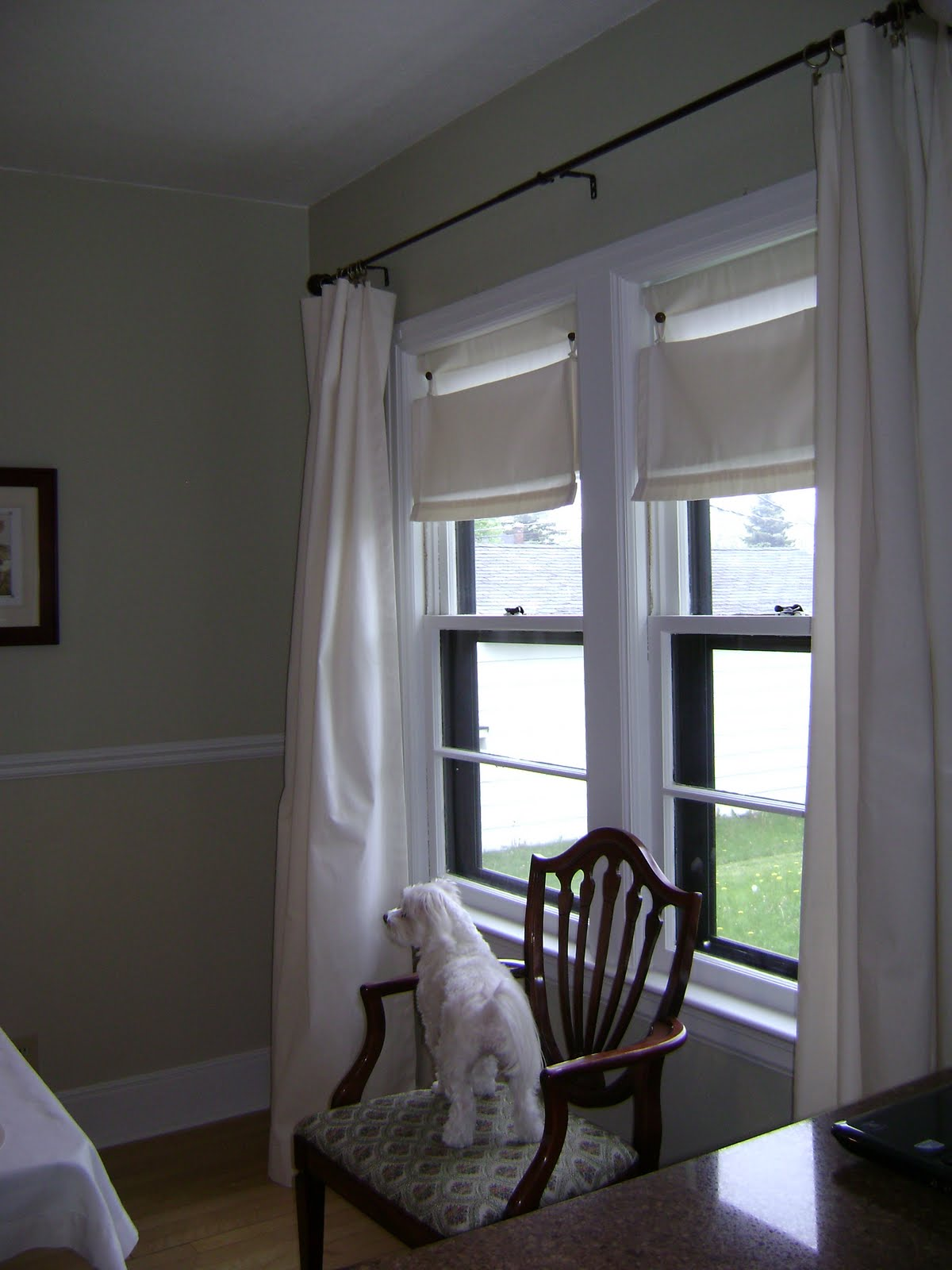 Little House Of Projects Drop Cloth Window Coverings