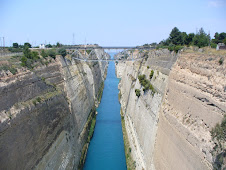 A View of Corinth Canal