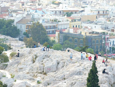 The Areopagus Seen from the Acropolis of Athens