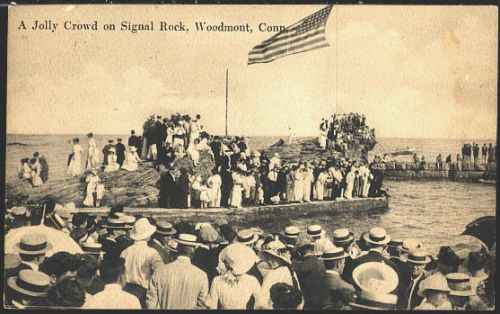 John Tuohy S Connecticut History Woodmont 1920 Signal Rock