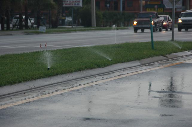 Lawn Irrigation Rain Water