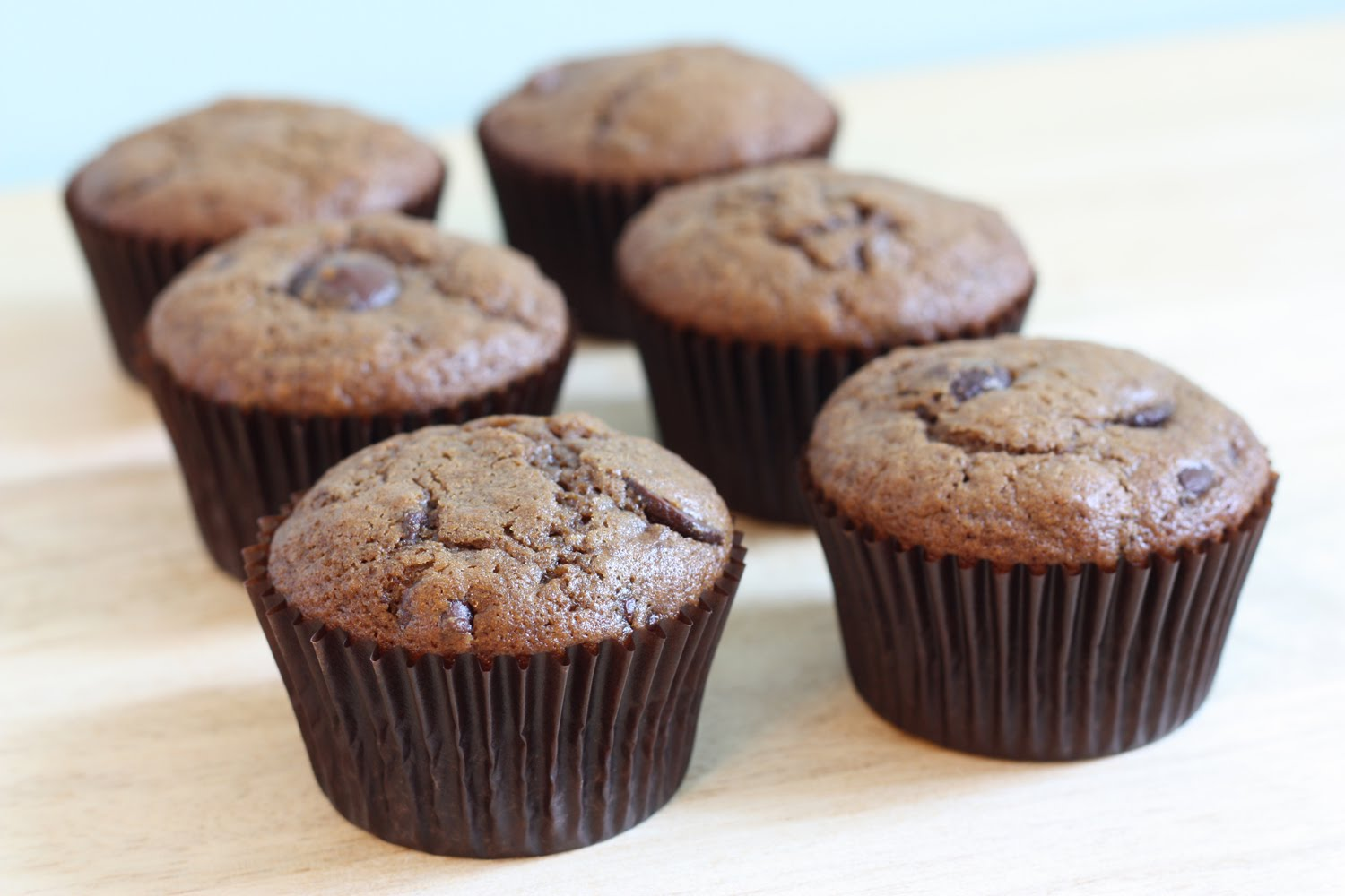 That Winsome Girl: Mocha Chocolate Chip Muffins