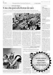 """foto del verano """"La Voz de Galicia"""""""