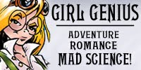 The Adventures of Agatha Heterodyne: Girl Genius