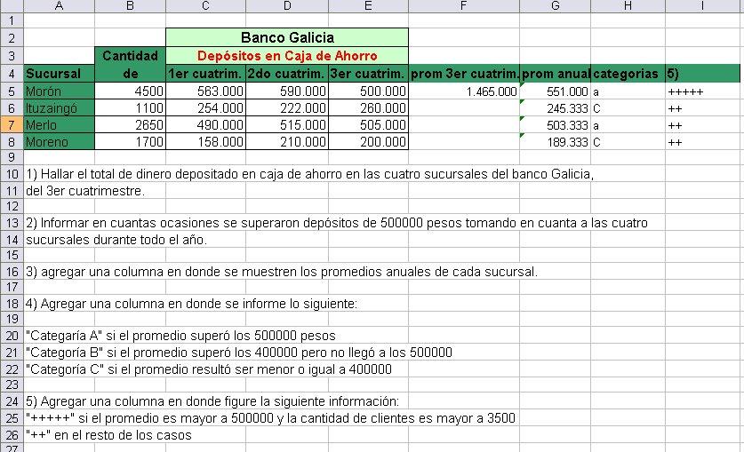 Inform tica las nieves 2 rh dep sitos en caja de ahorro for Buscador de sucursales banco galicia