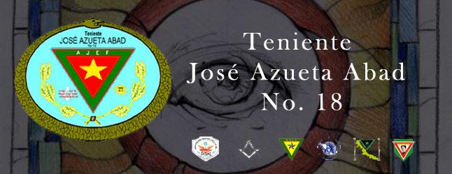Logia AJEF Teniente José Azueta Abad No. 18  Veracruz, Ver.
