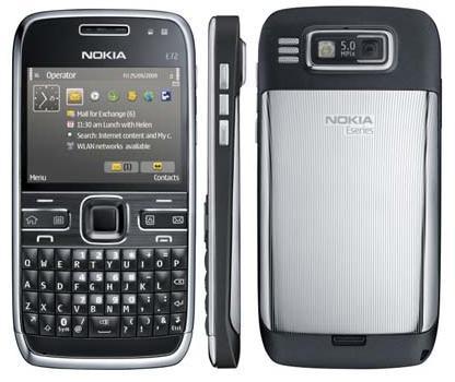 nokia e72  mobile phone