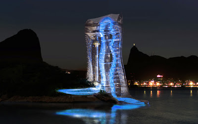 Rio De Janeiro great Architecture -  lighthouse tower
