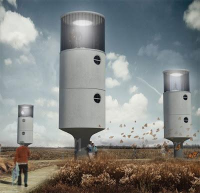 Instant House - Crazy Concept House Architecture