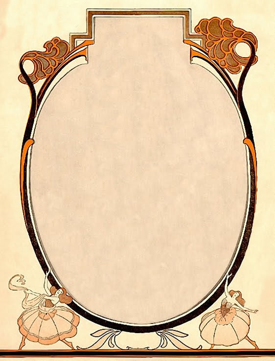 The Sum Of All Crafts: Art Nouveau Frames