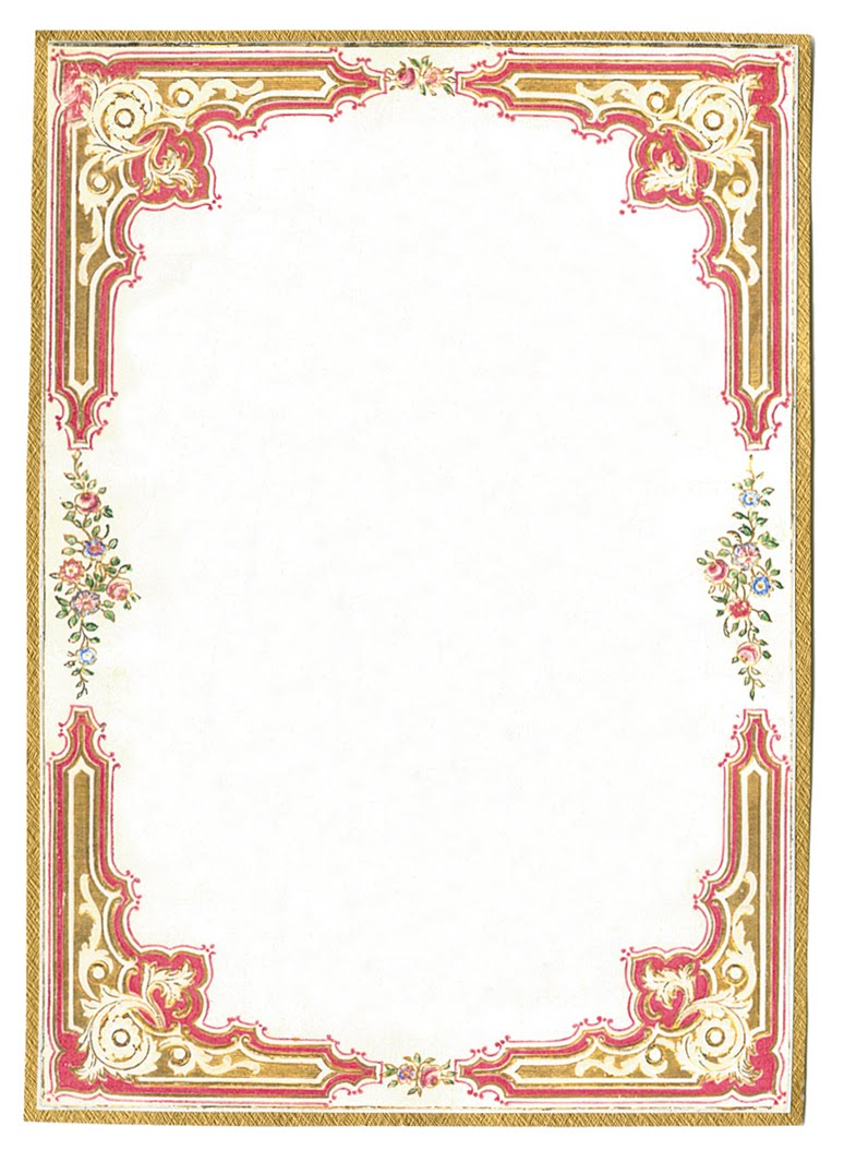 The Sum Of All Crafts: More Fancy Frames