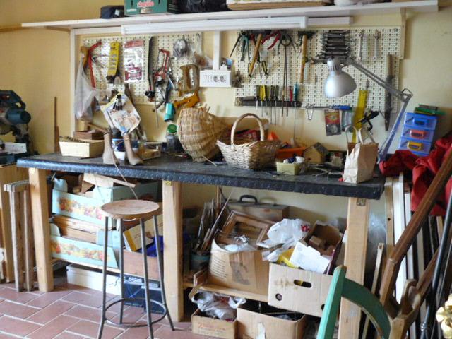 Tavolo Da Lavoro Con Bancali : Tavolo da lavoro fai da te idee di decorazione