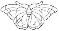 вырезаем бабочку, вырезаем бабочек