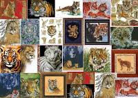 схемы для вышивания тигр скачать бесплатно