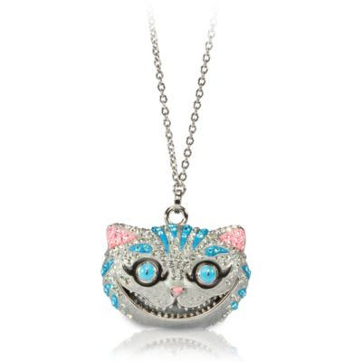 disney collectibles cheshire cat necklace