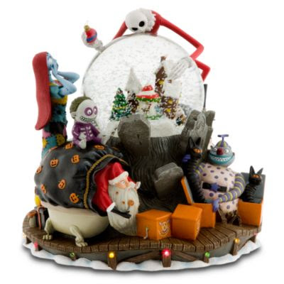 limited edition nightmare before christmas snowglobe