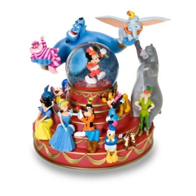 Disney snowglobes collectors guide mickey mouse friends snowglobe - Disney weihnachtskugeln ...