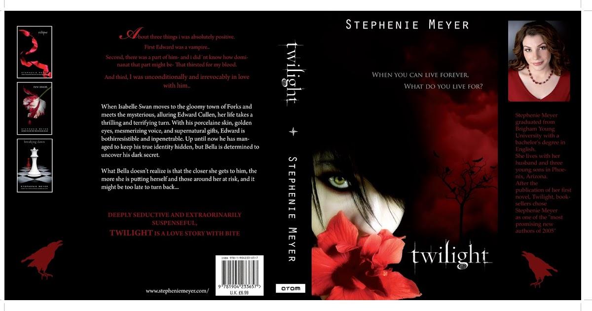 Aliyacrafts Twilight Book
