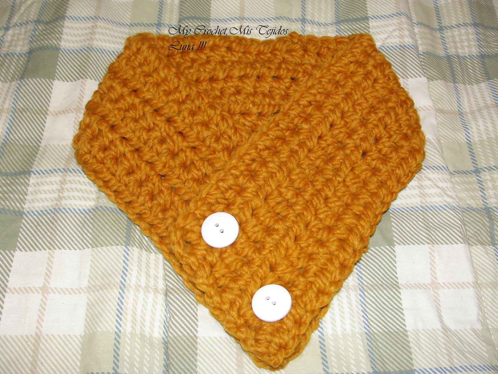 Patrones De Cuellos Tejidos a Crochet