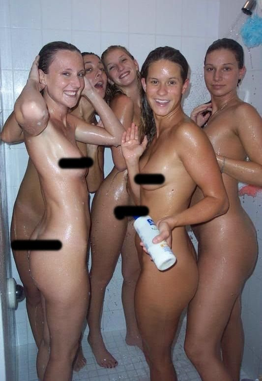 Sensational, She's voyeur hockey girls in shower