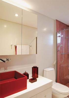 banheirop 39 3 Banheiros simples e lindos