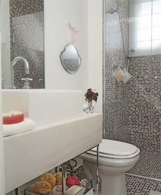 banheirop 40 3 Banheiros simples e lindos