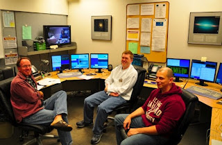The Keck Observatory control room