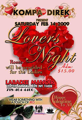 Compas lover night featuring some of the best Haitian singers