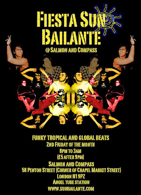 Fiesta sun Baliante @ Salmon And Compass, 2nd Friday of the month