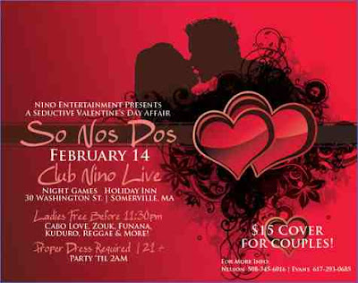 So Nos Dos -  A Seductive Valentines Day Affair