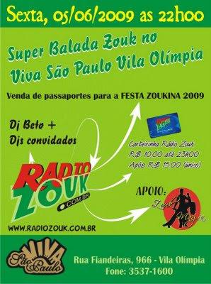 Super Balada Zouk - Vila Olympia