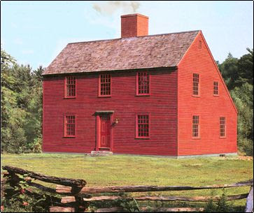 Liberty Post Saltbox Houses