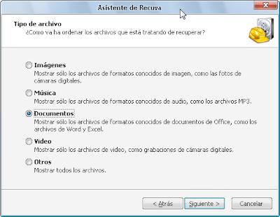 Clasificar archivos