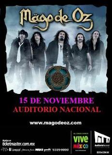 Mago de Oz Auditorio Nacional